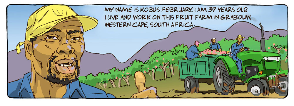 UntoldStories - Kobus February - the place of thorns - Comic Panel 1
